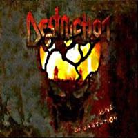 Destruction Alive Devastation Album Cover