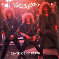 [Destruction Sentence of Death Album Cover]