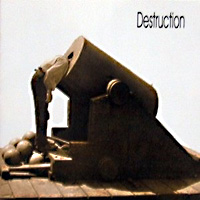 [Destruction The Least Successfull Human Cannonball Album Cover]