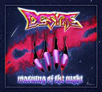 [Desyre Warning of the Night Album Cover]