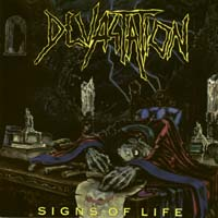 [Devastation Signs Of Life Album Cover]