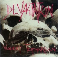 [Devastation Violent Termination Album Cover]