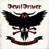 [DevilDriver Pray for Villains Album Cover]
