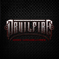 [Devilfire Dark Manoeuvres Album Cover]