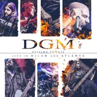 [DGM Passing Stages (Live in Milan and Atlanta) Album Cover]