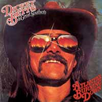 [Dickey Betts and Great Southern Atlanta's Burning Down Album Cover]
