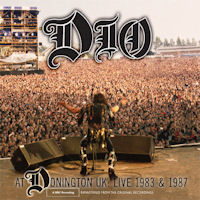 [Dio At Donington UK: Live 1983 and 1987 Album Cover]