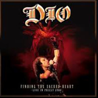 [Dio Finding The Sacred Heart: Live In Philly 1986 Album Cover]