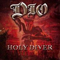[Dio Holy Diver Live Album Cover]