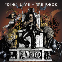 [Dio Live - We Rock Album Cover]