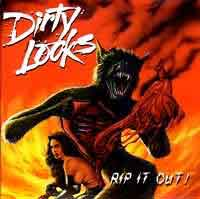 Dirty Looks Rip It Out! Album Cover