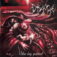 [Disgorge She Lay Gutted Album Cover]