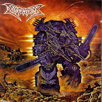 [Dismember Massive Killing Capacity Album Cover]