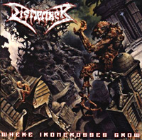 [Dismember Where Ironcrosses Grow Album Cover]