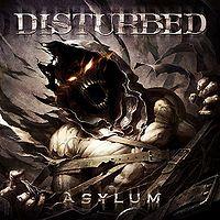 [Disturbed Asylum Album Cover]