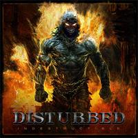 [Disturbed Indestructible Album Cover]
