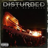 [Disturbed Live At Red Rocks Album Cover]