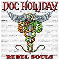 [Doc Holliday Rebel Souls Album Cover]