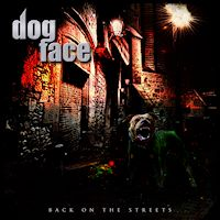 Dogface Back On The Streets Album Cover