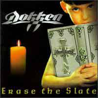 Dokken Erase The Slate Album Cover