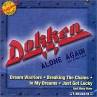 [Dokken Alone Again and Other Hits Album Cover]