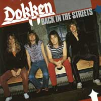 Dokken Back In The Streets Album Cover