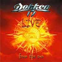 [Dokken Live From the Sun Album Cover]