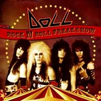 [Doll Rock 'N Roll Freak Show Album Cover]