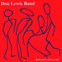 [Don Lewis Band Between The Lines Album Cover]