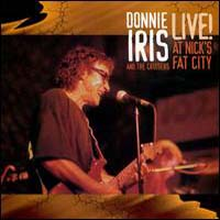 [Donnie Iris Live At Nick's Fat City Album Cover]