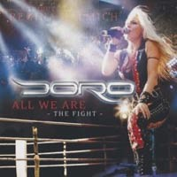 Doro All We Are - The Fight Album Cover