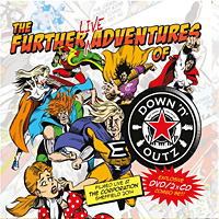 Joe Elliott's Down 'n' Outz The Further Live Adventures of Album Cover