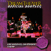 [Dream Theater Official Bootleg - Los Angeles, California 5/18/98 Album Cover]