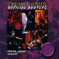 [Dream Theater Official Bootleg - Tokyo, Japan 10/28/95 Album Cover]