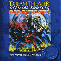 [Dream Theater Official Bootleg - The Number of the Beast Album Cover]