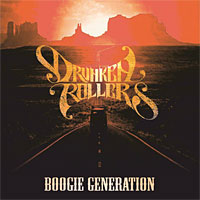 [Drunken Rollers Boogie Generation Album Cover]