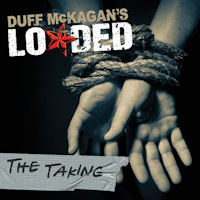 [Duff Mckagan's Loaded The Taking Album Cover]