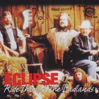 [Eclipse Ride Through the Badlands Album Cover]