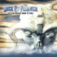 Edge Of Forever Let the Demon Rock 'N Roll Album Cover