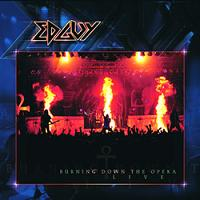 [Edguy Burning Down The Opera Album Cover]