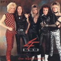[E.F. Band One Night Stand Album Cover]