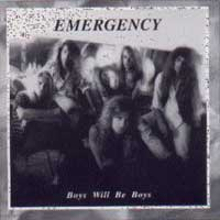 [Emergency Boys Will Be Boys Album Cover]