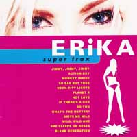 [Erika Super Trax Album Cover]