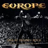 [Europe Live At Sweden Rock Album Cover]