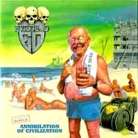 [EvilDead Annihilation Of Civilization Album Cover]