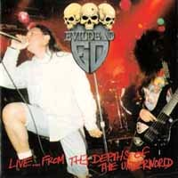 [EvilDead Live...From The Depths Of The Underworld Album Cover]