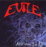 [Evile All Hallows Eve EP Album Cover]