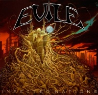[Evile Infected Nations Album Cover]