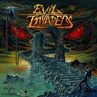 [Evil Invaders Pulses Of Pleasure Album Cover]