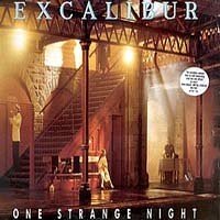 [Excalibur One Strange Night Album Cover]